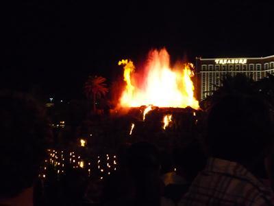 ミラージュの噴火ショー