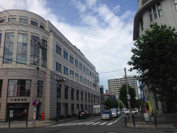 北のウォール街。郵便局の建物は新しいです