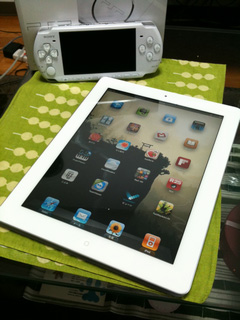 iPad2様!