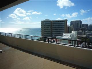 ホテルの部屋からの眺望