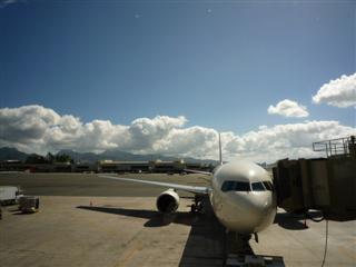 さようならハワイの空